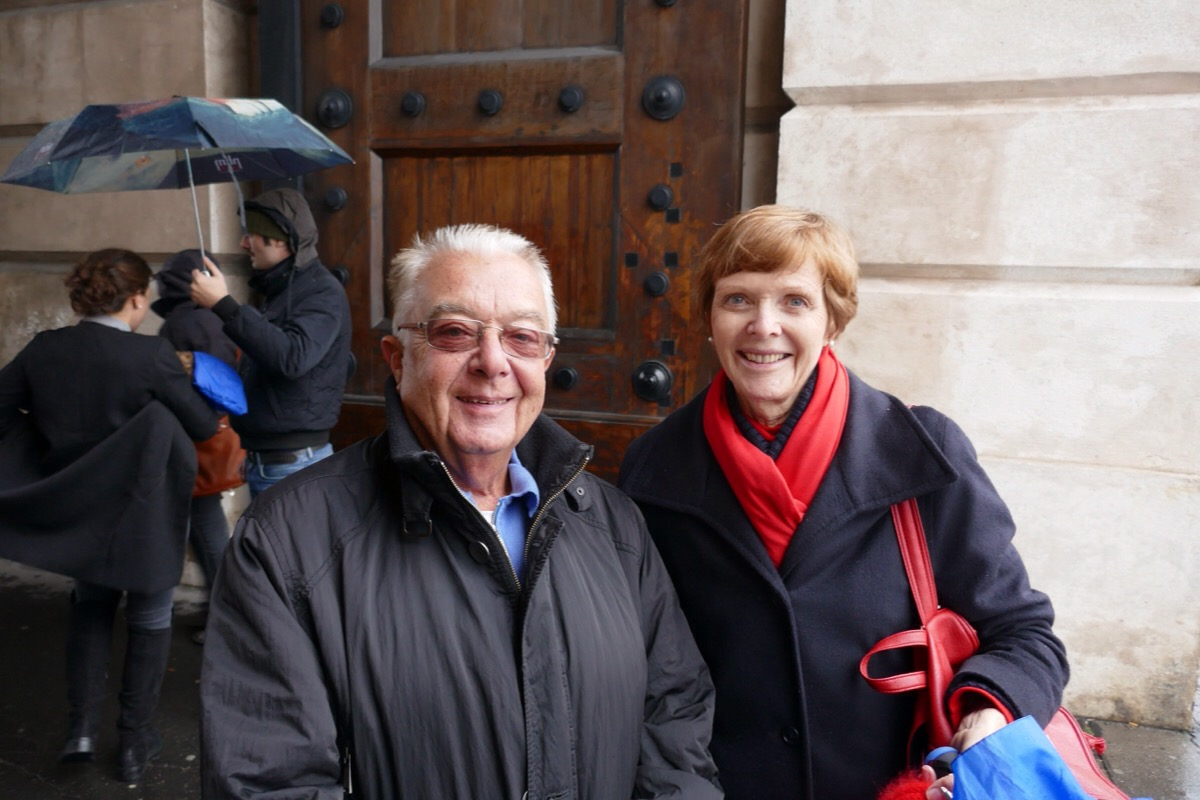 A Vienna Greeter with his guest