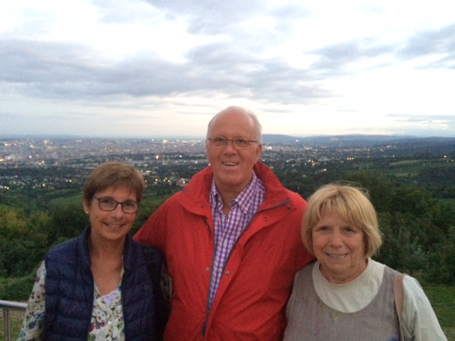 The view over Vienna on a private walk with a Vienna Greeter