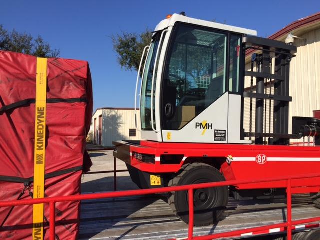 CVS Ferrari / BP SL model 5 ton being shipped out