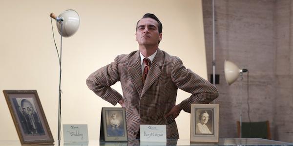 Joaquin Phoenix in Paul Thomas Anderson's     The Master