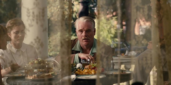 Philip Seymour Hoffman and Amy Adams in Paul Thomas Anderson's  The Master