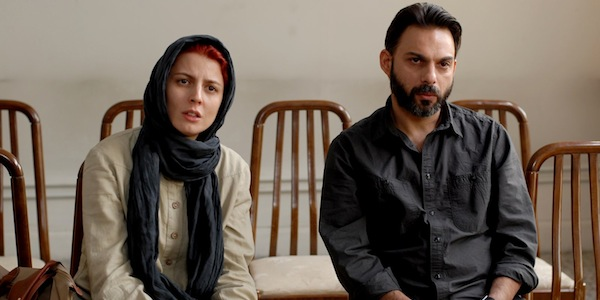 Leila Hatami and Peyman Moaadi in Asghar Farhadi's     A Separation