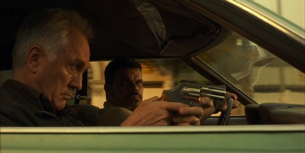 Terence Stamp and Luis Guzman in Steven Soderbergh's  The Limey