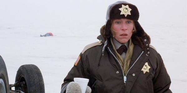 Frances McDormand in Joel Coen and Ethan Coen's  Fargo