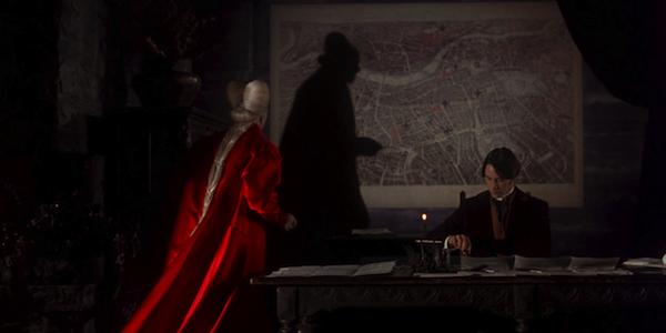 Gary Oldman and Keanu Reeves in Francis Ford Coppola's  Bram Stoker's Dracula