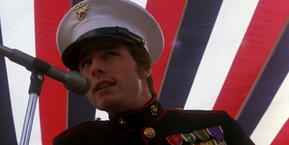 Tom Cruise in Oliver Stone's     Born on the Fourth of July