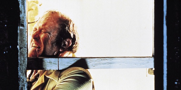 M. Emmett Walsh in Joel Coen and Ethan Coen's  Blood Simple.