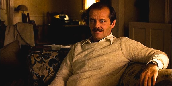 Jack Nicholson in Warren Beatty's  Reds