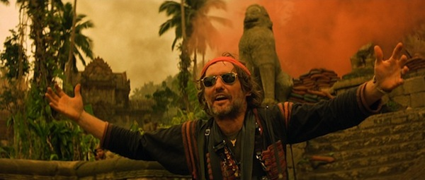Dennis Hopper in Francis Ford Coppola's  Apocalypse Now