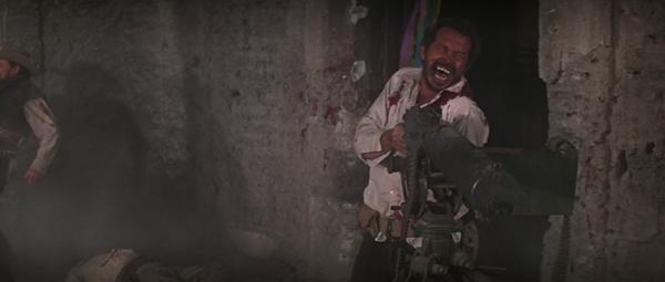 Warren Oates in Sam Peckinpah's  The Wild Bunch