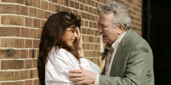 Marisa Tomei and Albert Finney in Sidney Lumet's  Before the Devil Knows You're Dead