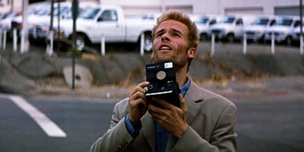 Guy Pearce in Christopher Nolan's  Memento