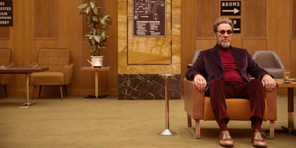 F. Murray Abraham in Wes Anderson's  The Grand Budapest Hotel
