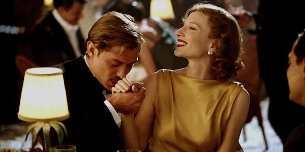 Cate Blanchett and Jude Law in Martin Scorsese's  The Aviator