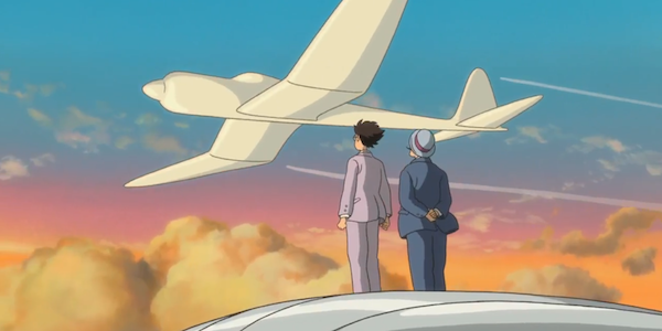 A scene from Hayao Miyazaki's  The Wind Rises