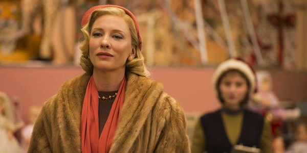 Cate Blanchett and Rooney Mara in Todd Haynes'  Carol