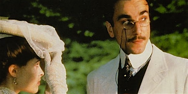 Daniel Day-Lewis and Helena Bonham-Carter in James Ivory's  Room with a View