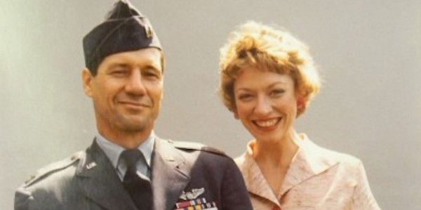 Fred Ward and Veronica Cartwright in Philip Kaufman's  The Right Stuff