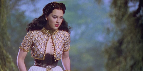June Duprez in Michael Powell, Zoltan Korda and William Cameron Menzies'  The Thief of Bagdad