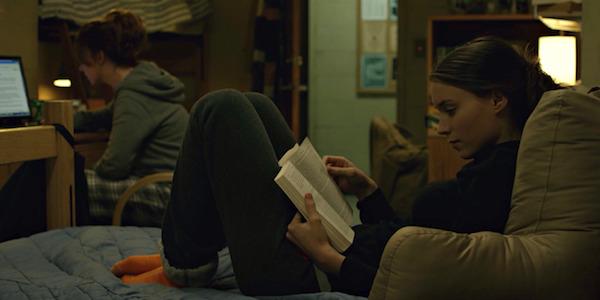 Rooney Mara in David Fincher's  The Social Network