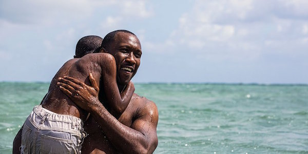 Mahershala Ali and Alex Hibbert in Barry Jenkins'     Moonlight