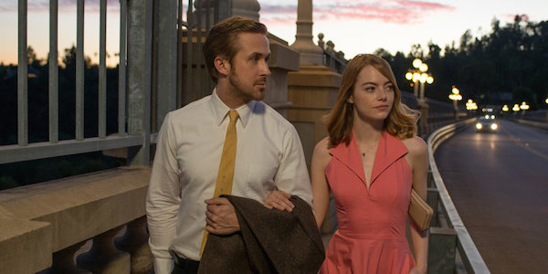 Ryan Gosling and Emma Stone in Damien Chazelle's  La La Land