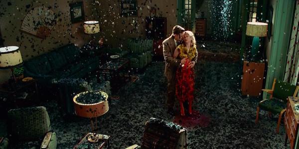 Leonardo DiCaprio and Michelle Williams in Martin Scorsese's  Shutter Island