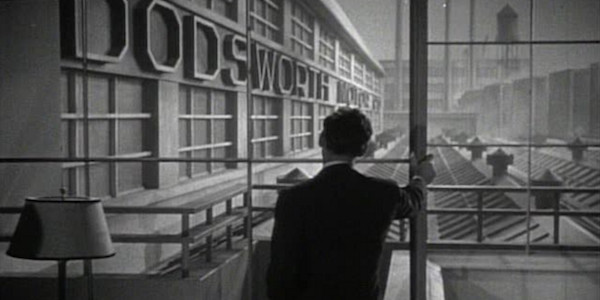 Walter Huston in William Wyler's  Dodsworth