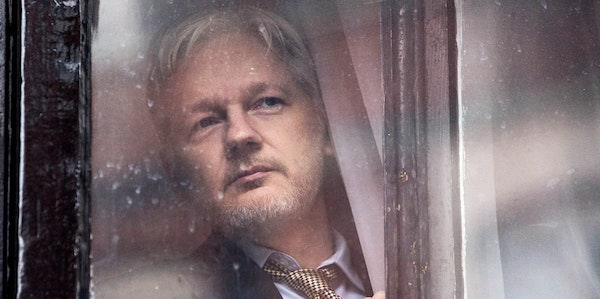 Julian Assange in Laura Poitras'  Risk