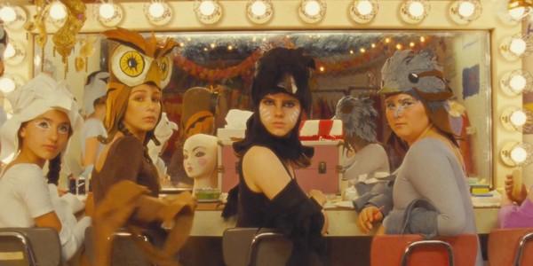 Violet Guinness, Isabella Guinness, Kara Hayward and Ada-Nicole Sanger in Wes Anderson's  Moonrise Kingdom