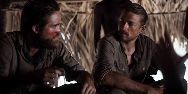 Robert Pattinson and Charlie Hunnam in James Gray's  The Lost City of Z