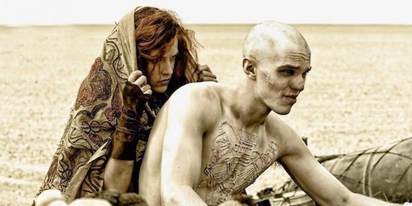 Riley Keough and Nicholas Hoult in George Miller's  Mad Max: Fury Road