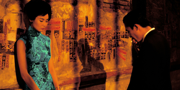 Maggie Cheung and Tony Leung in Wong Kar-Wai's  In the Mood for Love