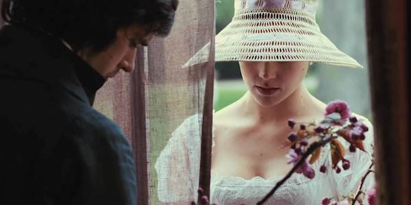 Ben Whishaw and Abbie Cornish in Jane Campion's  Bright Star