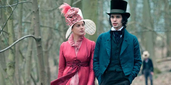 Abbie Cornish and Ben Whishaw in Jane Campion's  Bright Star