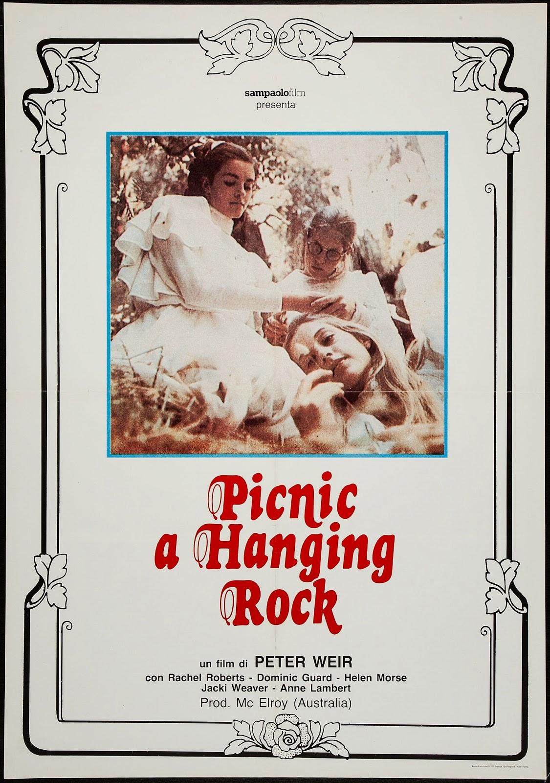 PICNIC A HANGING ROCK - Italian Poster.jpeg