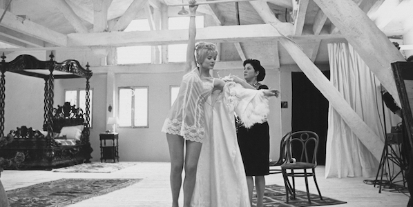Corinne Marchand and Dominique Davray in Agnes Varda's  Cleo from 5 to 7