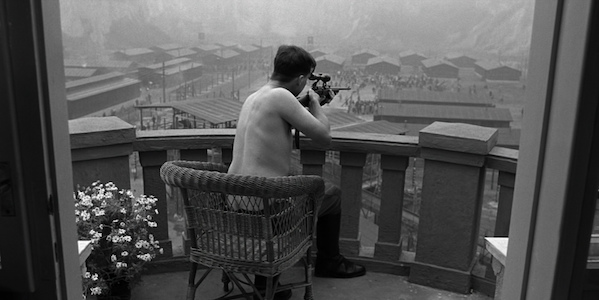 Ralph Fiennes in Steven Spielberg's  Schindler's List