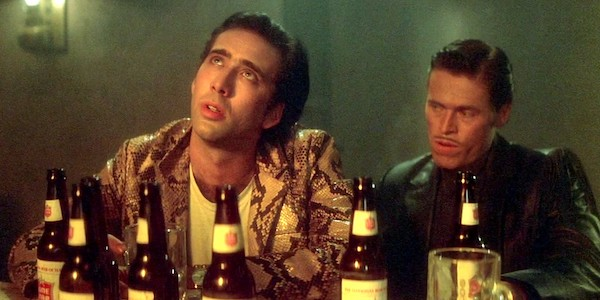 Nicolas Cage and Willem Dafoe in David Lynch's  Wild at Heart