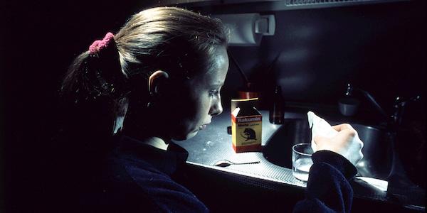 Kati Outinen in Aki Kaurismäki's  The Match Factory Girl