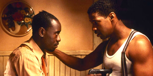 Don Cheadle and Denzel Washington in Carl Franklin's  Devil in a Blue Dress