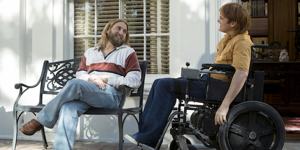 Jonah Hill and Joaquin Phoenix in Gus Van Sant's  Don't Worry, He Won't Get Far on Foot