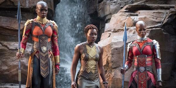 Danai Gurira, Lupita Nyong'o and Florence Kasumba in Ryan Coogler's  Black Panther