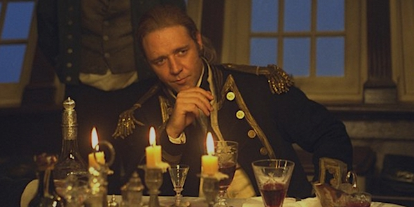 Russell Crowe in Peter Weir's  Master and Commander: The Far Side of the World