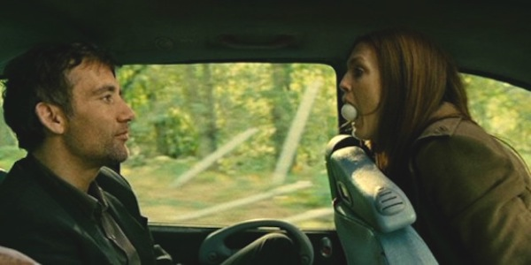 Clive Owen and Julianne Moore in Alfonso Cuaron's  Children of Men