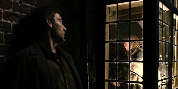 Clive Owen and Charlie Hunnam in Alfonso Cuaron's  Children of Men