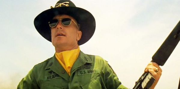 Robert Duvall in Francis Ford Coppola's  Apocalypse Now
