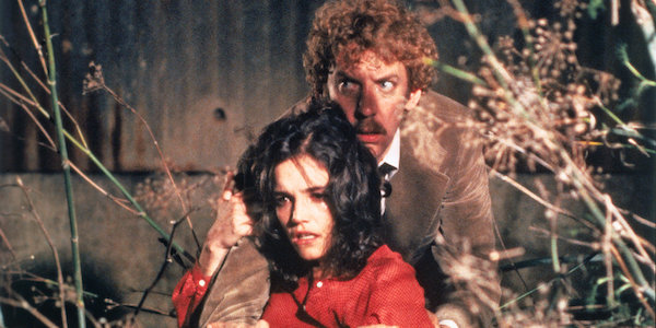 Donald Sutherland and Brooke Adams in Philip Kaufman's  Invasion of the Body Snatchers