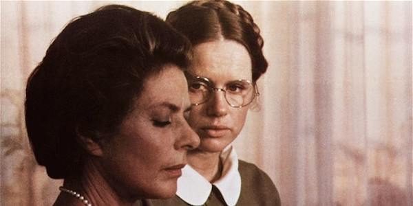 Ingrid Bergman and Liv Ullman in Ingmar Bergman's  Autumn Sonata