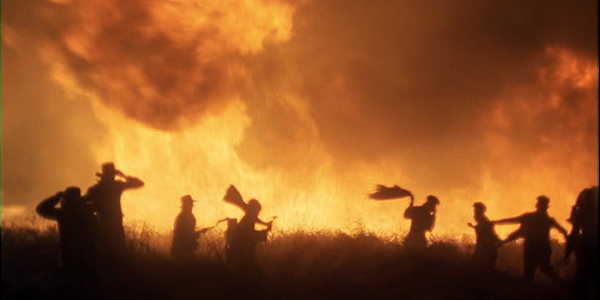 The night of the locusts in Terrence Malick's  Days of Heaven